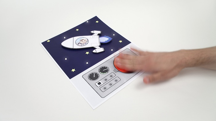 Paper Generators - Rocket and stars with LEDs