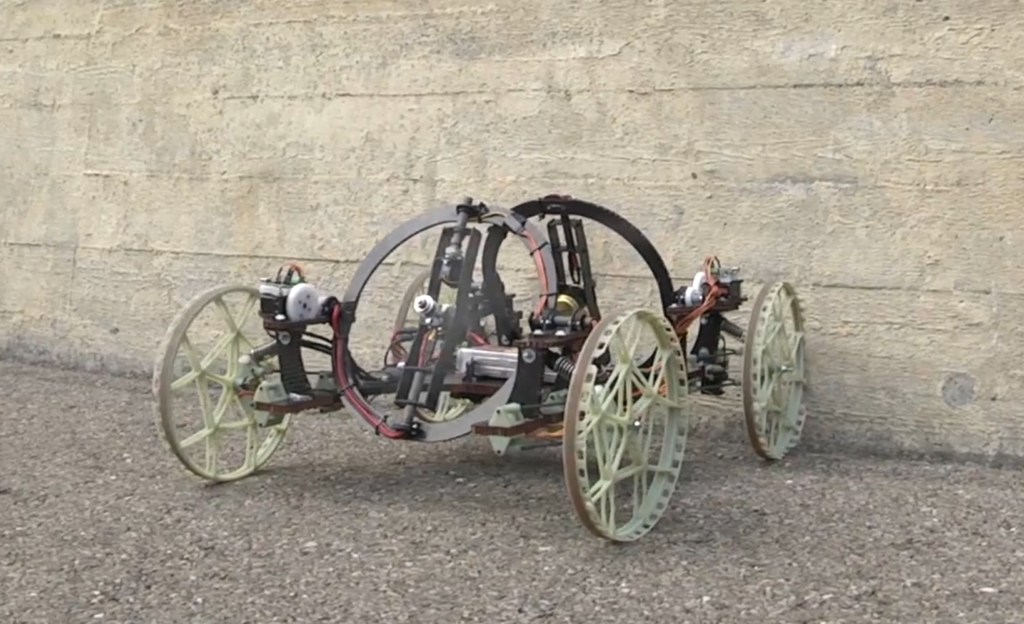VertiGo - A Wall-Climbing Robot including Ground-Wall Transitionn-Image